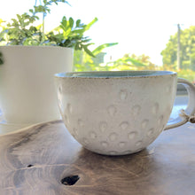 Load image into Gallery viewer, Sea Frost Cup - Hand Carved Tea Cup - Magnolia Lane