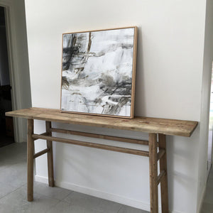 Simple Recycled Wood Console - Magnolia Lane