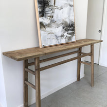 Load image into Gallery viewer, Simple Recycled Wood Console - Magnolia Lane
