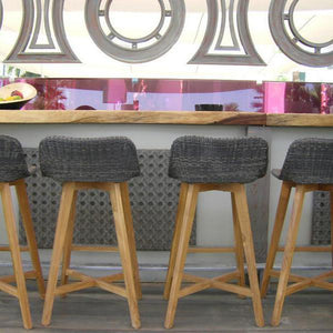 Skal Bar Stool (various colours) - Magnolia Lane