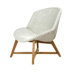 Skal Lounge Chair (Whitewash\Irish Coffee\Black) - Magnolia Lane