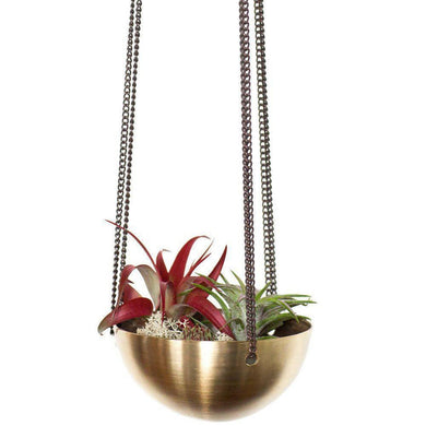 Small Brass Hanging Bowl - Magnolia Lane