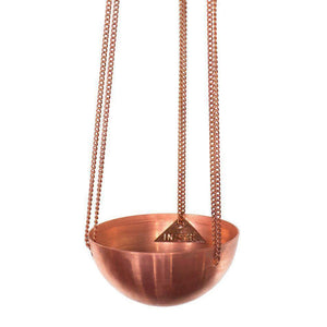 Small Copper Hanging Bowl - Magnolia Lane