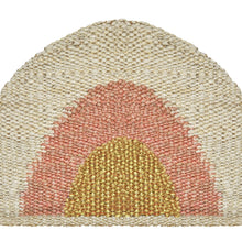 Load image into Gallery viewer, Sonny Round Doormat- Gold/Peach/Natural - Magnolia Lane