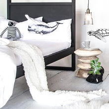 Load image into Gallery viewer, Strand 4 Poster Bed\Black\Various sizes by Uniqwa Furniture - Magnolia Lane