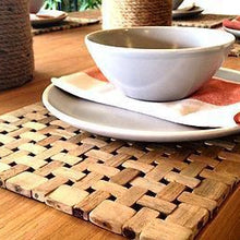 Load image into Gallery viewer, Teak Rectangle Placemat by Uniqwa-Uniqwa Furniture-Magnolia Lane