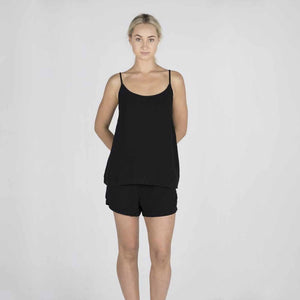 The Linen Camisole | Black - Magnolia Lane