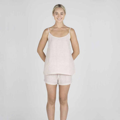 The Linen Camisole | Pink - Magnolia Lane