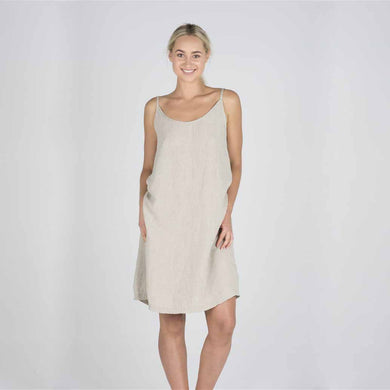 The Nightie/Summer Dress | Natural - Magnolia Lane
