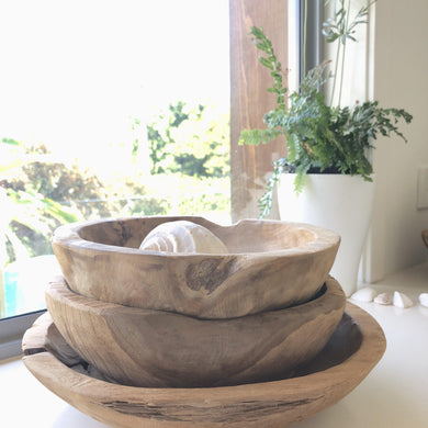 Tree Root Serving Bowl - Magnolia Lane