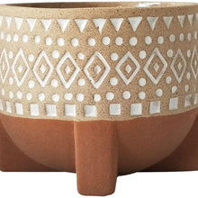 Load image into Gallery viewer, Zuri Planter with legs - Terracotta & Sand | Medium - Magnolia Lane