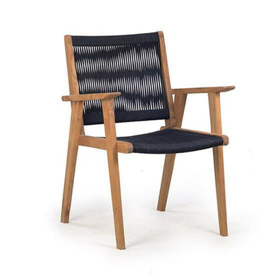 Vega Rope Dining Arm Chair - Magnolia Lane