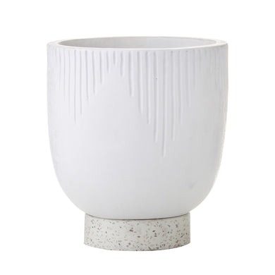 Ari Planter Pot | White - Magnolia Lane