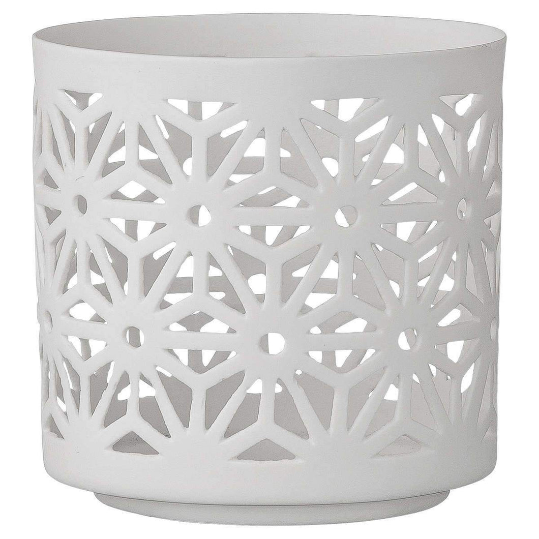 Votive Porcelain White h.9cm - Magnolia Lane