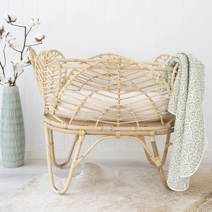 Willow Baby Bassinet | Natural - Magnolia Lane