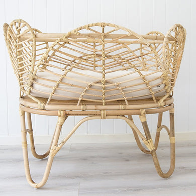 Willow Baby Bassinet | Natural-Magnolia Lane-Magnolia Lane