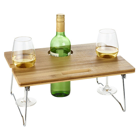 Portable Wine Table, Distinctify