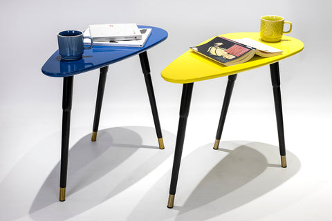 Colourful Side Tables, Distinctify