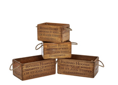 Wooden Storage Boxes, TK Maxx