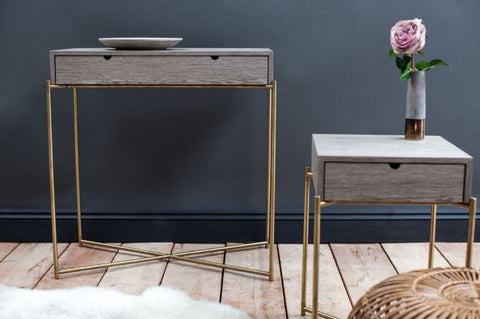 The Small Iris Console Table from Distinctify