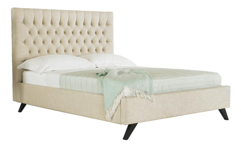 Sandringham King Bed - Cream