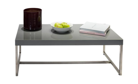 Distinctify Cuba Coffee Table - Grey Lacquer