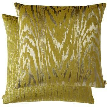 Old Gold Tiger Cushion