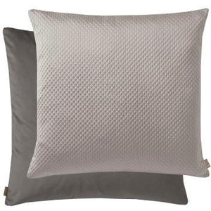 Distinctify Black & Grey Rombo Cushion