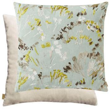 Distinctify Green Flor Cushion