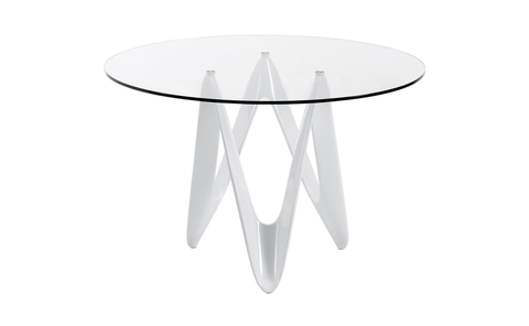 Distinctify Fluido Glass Dining Table