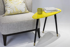 Luca Side Table - Yellow
