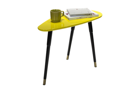 Distinctify Luca Side Table - Yellow