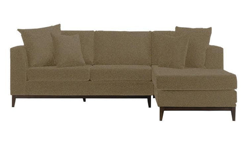 Amigo 2-Seater Sofa with Chaise - Taupe