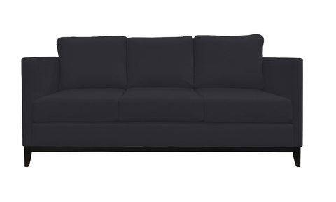 Distinctify Hannah 3-Seater Sofa - Charcoal