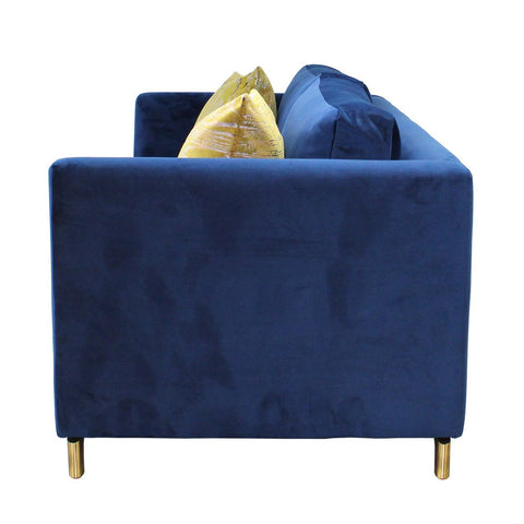 Greenwich 2-Seater Sofa - Marine Blue