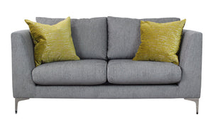 Distinctify Manhattan 2-Seater Sofa - Nickel