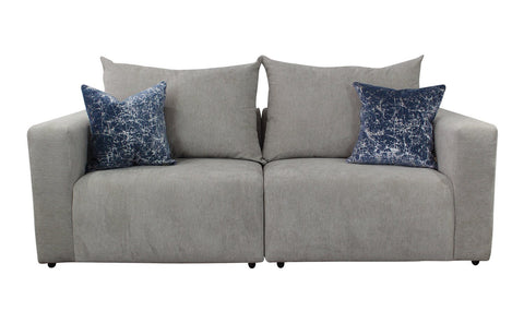 Distinctify Pulse 3-Seater Sofa - Silver