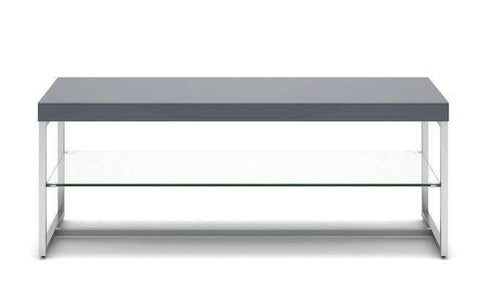 Cuba TV Unit - Grey Lacquer