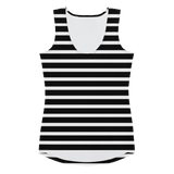 Stripe Fitted Tank or Crop