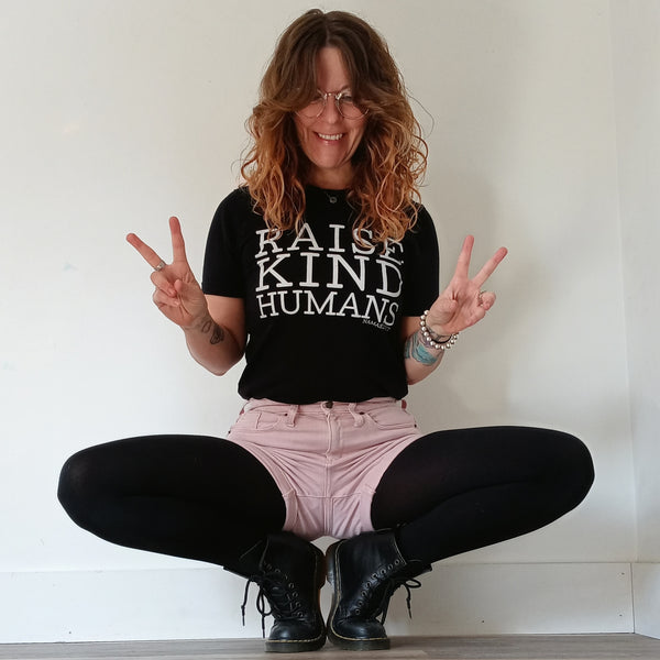 Raise Kind Humans Unisex T