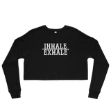 Inhale Crop Sweatshirt