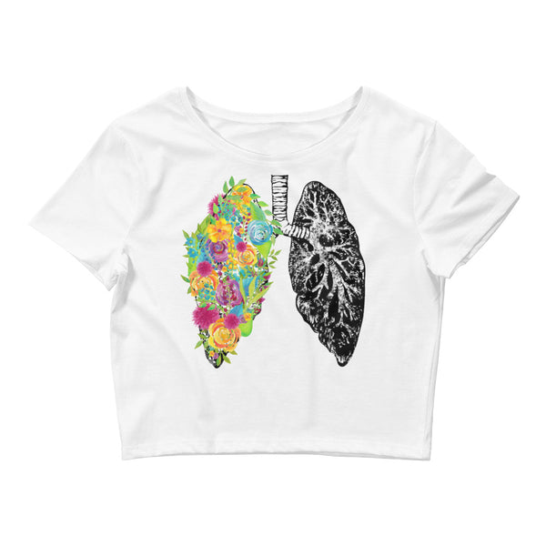 Breathe Crop Tee