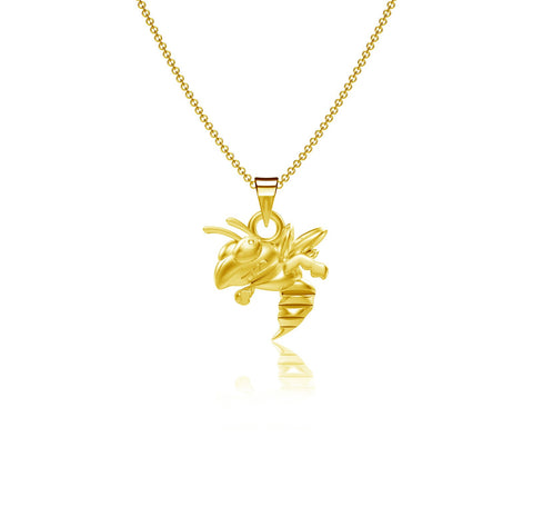 Georgia Tech Pendant Necklace - Gold Plated