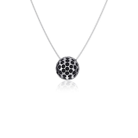Golf Ball Pendant Necklace