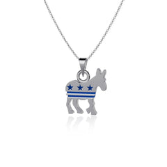 Donkey Pendant Necklace - Enamel