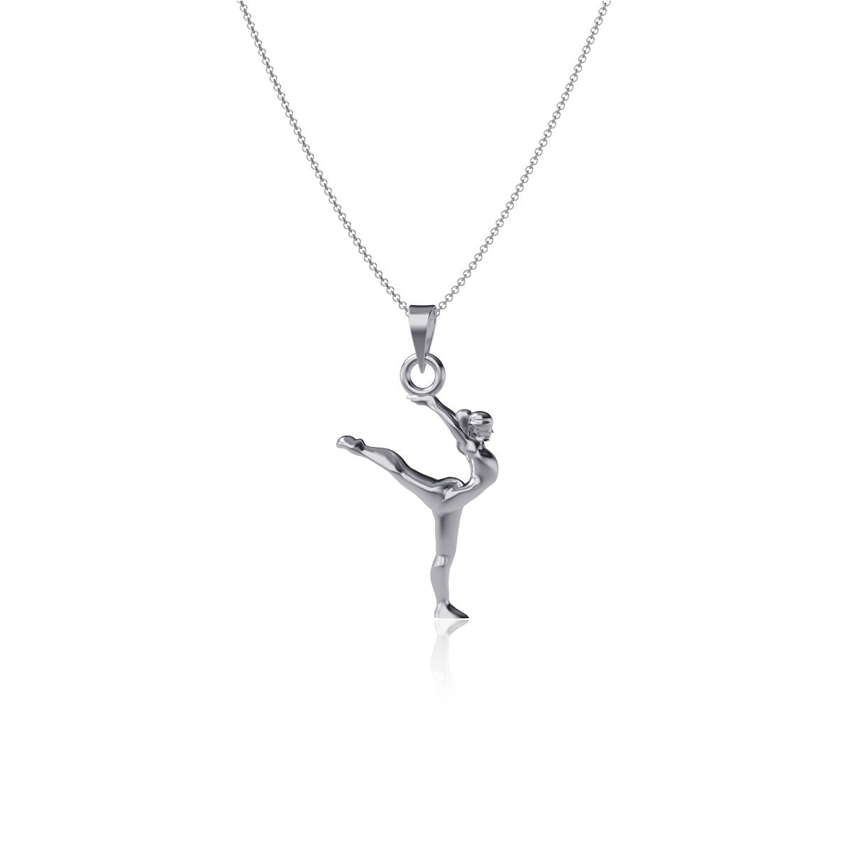 Gymnastics Pendant Necklace