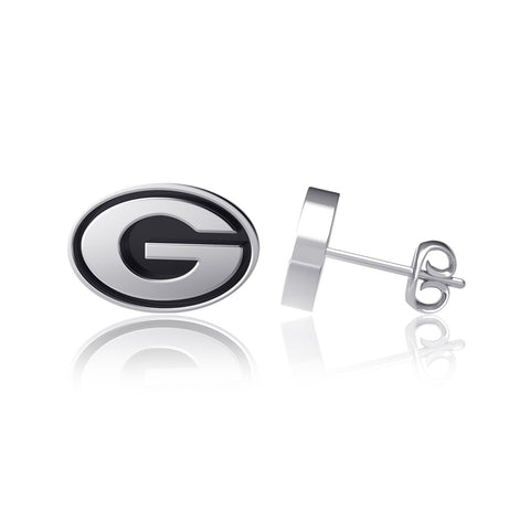 University of Georgia Post Earrings