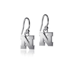 University of Nebraska Dangle Earrings