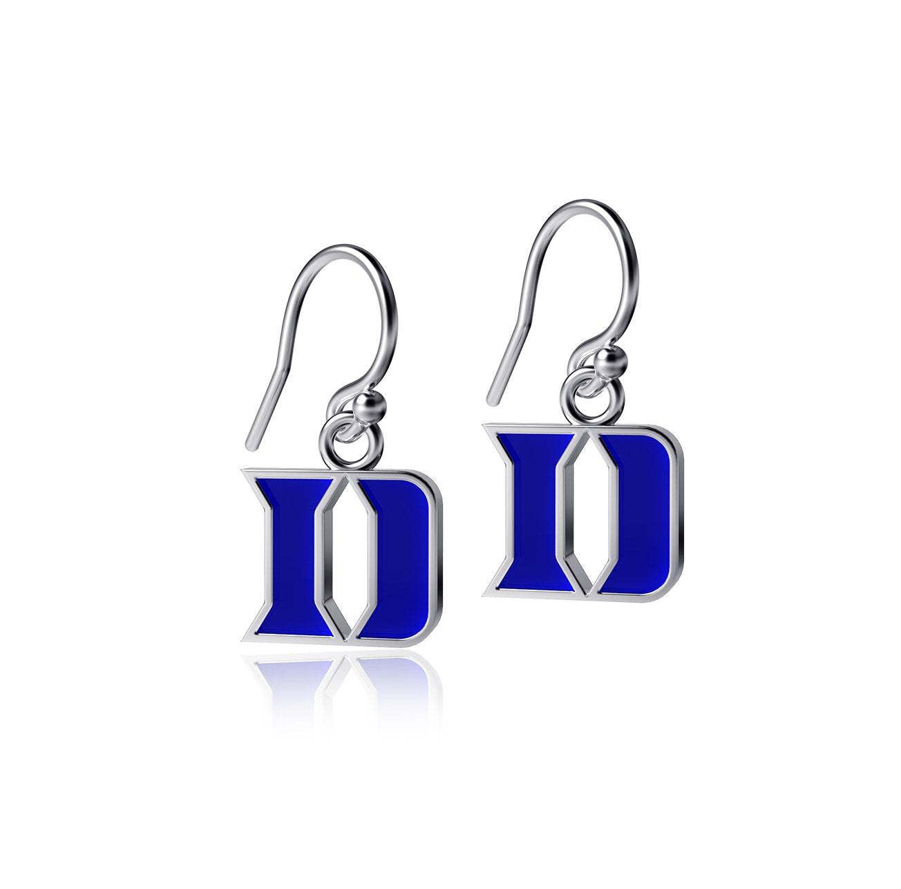 Duke University Dangle Earrings - Enamel