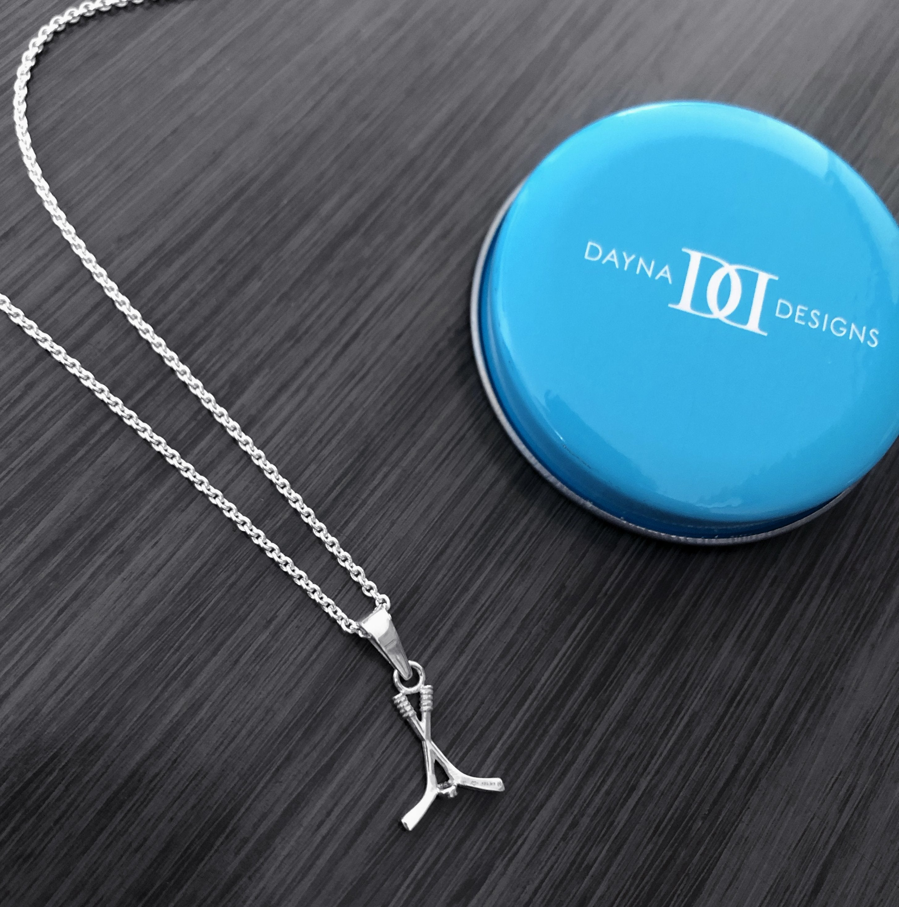 Hockey Pendant Necklace